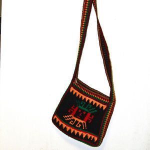 Handbags - Handmade Zippered Bag, South America